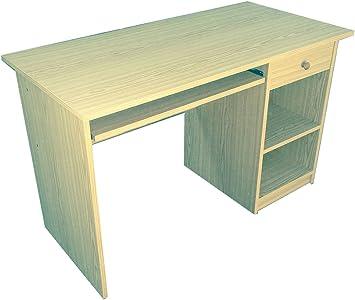 Mesa de estudio color Haya D, Montada pensada para mesa de ...