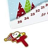 HMK Peanuts Sledding Snoopy Christmas Countdown