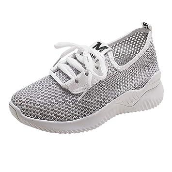 4061a201c679b Amazon.com: Peigen Women's Athletic Walking Shoes Comfort Sneakers ...