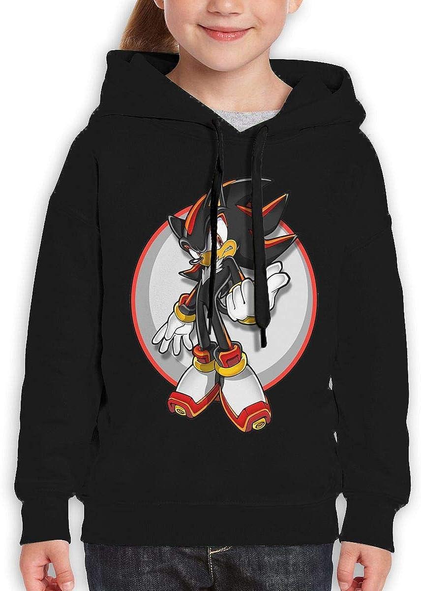 Guiping The Hedgehog Logo Teen Hooded Sweate Sweatshirt Black