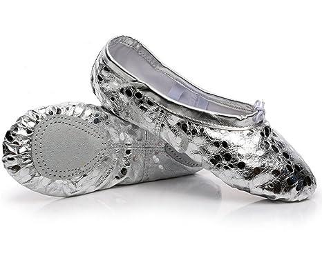 FGDJTYYJ Zapatillas de Baile para Adultos Zapatillas de ...