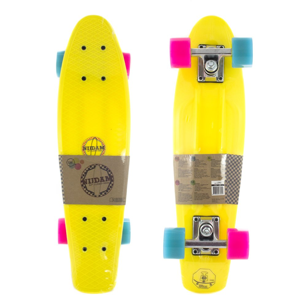 Nijdam Skateboard à Rabat en Plastique Grip 52NH