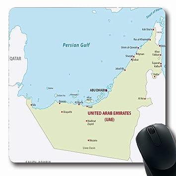 Amazon.com : Ahawoso Mousepads for Computers UAE United Arab ...