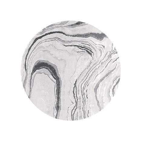 Surprising Amazon Com Jxlbb Polyester White Marble Texture Round Download Free Architecture Designs Scobabritishbridgeorg