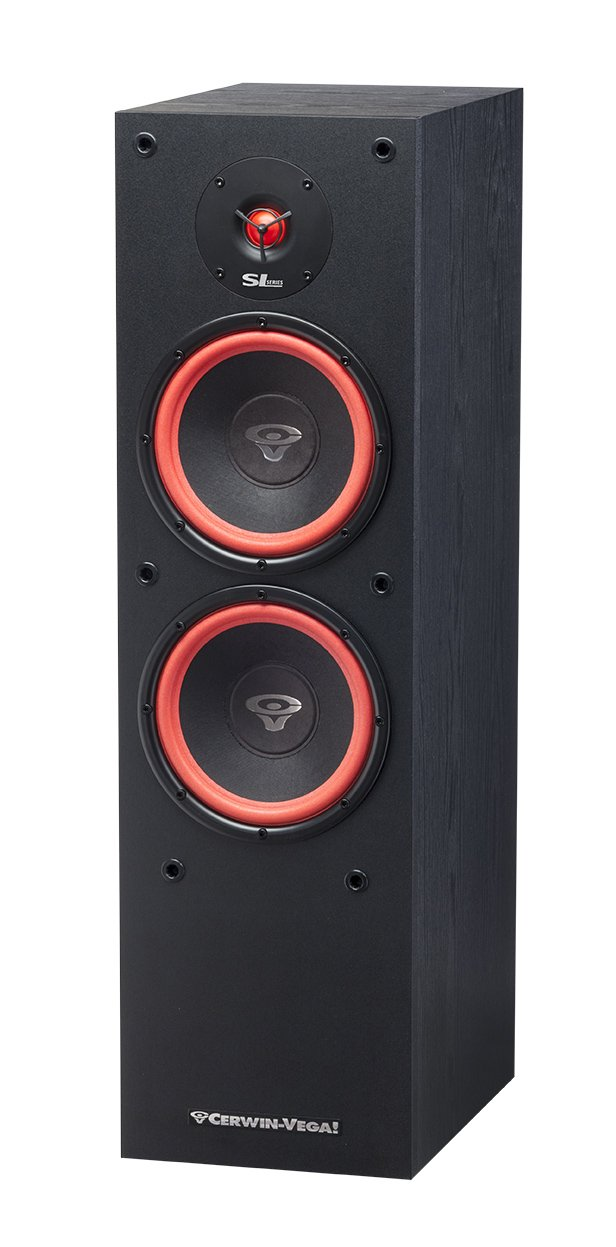 "Cerwin-Vega SL-28 Dual 8"" 2-Way Floor Speaker"