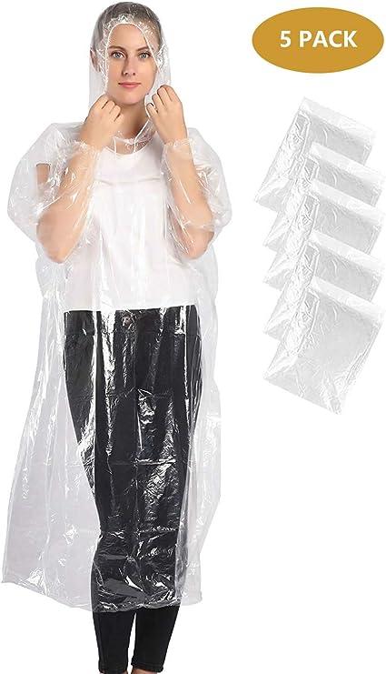 10 X Plastic Emergency Waterproof Rain Poncho/'s UK Seller Fast Despatch UK