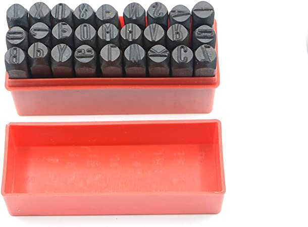 LETTERS /& NUMBERS METAL PUNCH STAMPS 10mm SIZE BRAND NEW.
