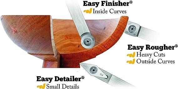 Simple 90° Detailer Carbide Diamond Scraper Spindle Turning Wood Lathe Tool