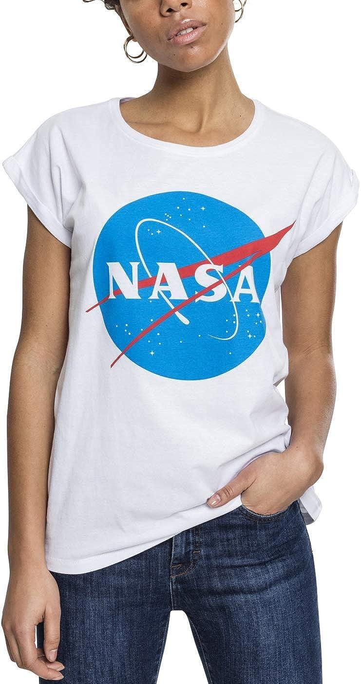 TALLA S. Mister Tee Mujeres Ropa superior / Camiseta NASA Insignia