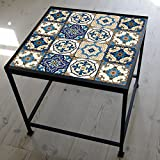 cheerfullus 10PCS Moroccan Style Tile Stickers