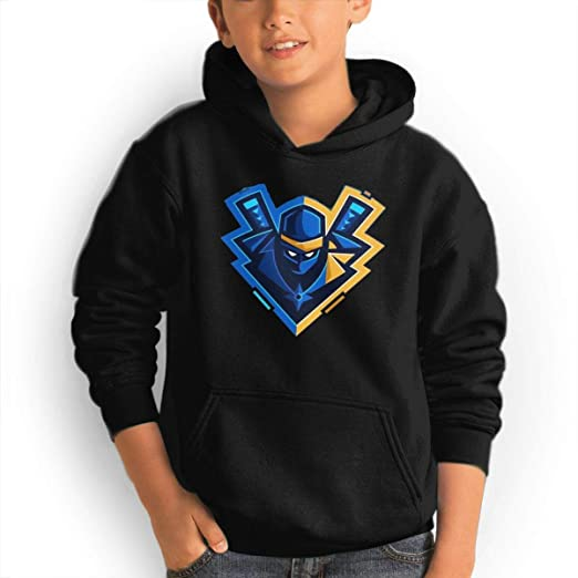Amazon.com: Ichenquxi Youth Custom Ninja YouTube Top Hoodie ...