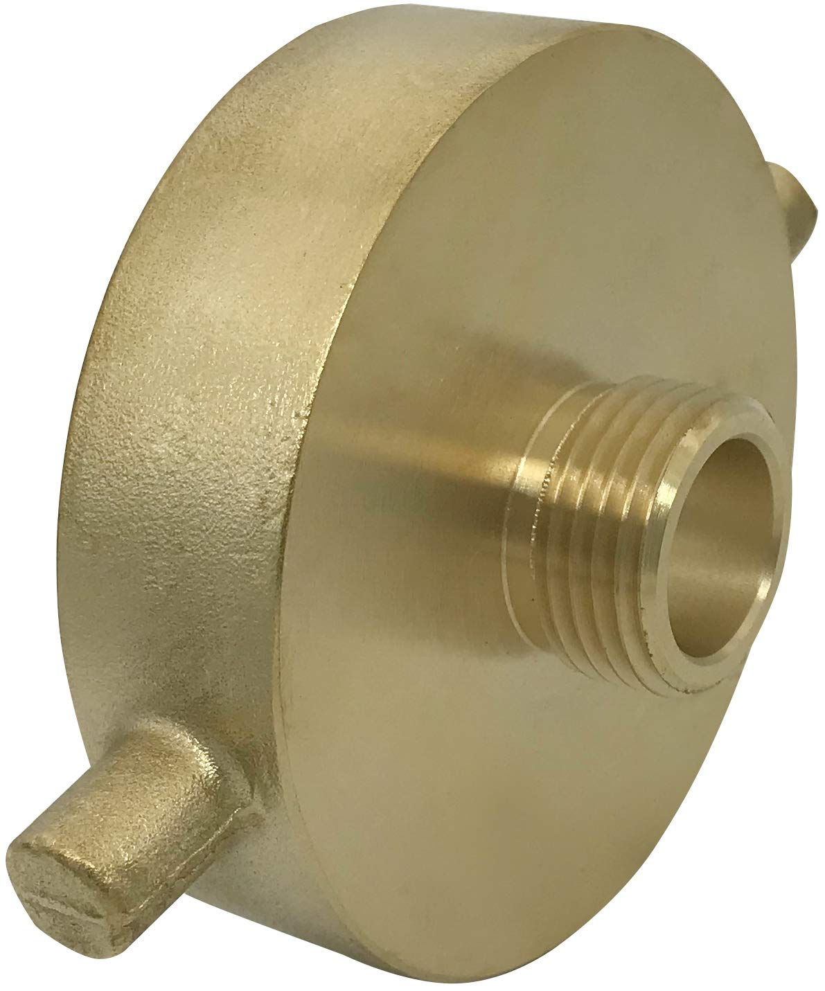 NH LTWFITTING Brass Fire Hydrant Adapter 2-1//2-Inch NST Pack of 2 Female x 3//4-Inch GHT Male