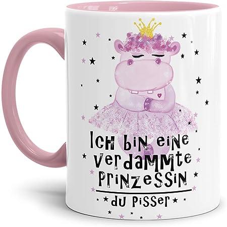 I love NILPFERDE Tasse Kaffeetasse