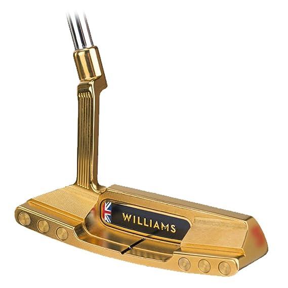 Williams golf Oxfordshire fresado oro putter 2016 derecho ...