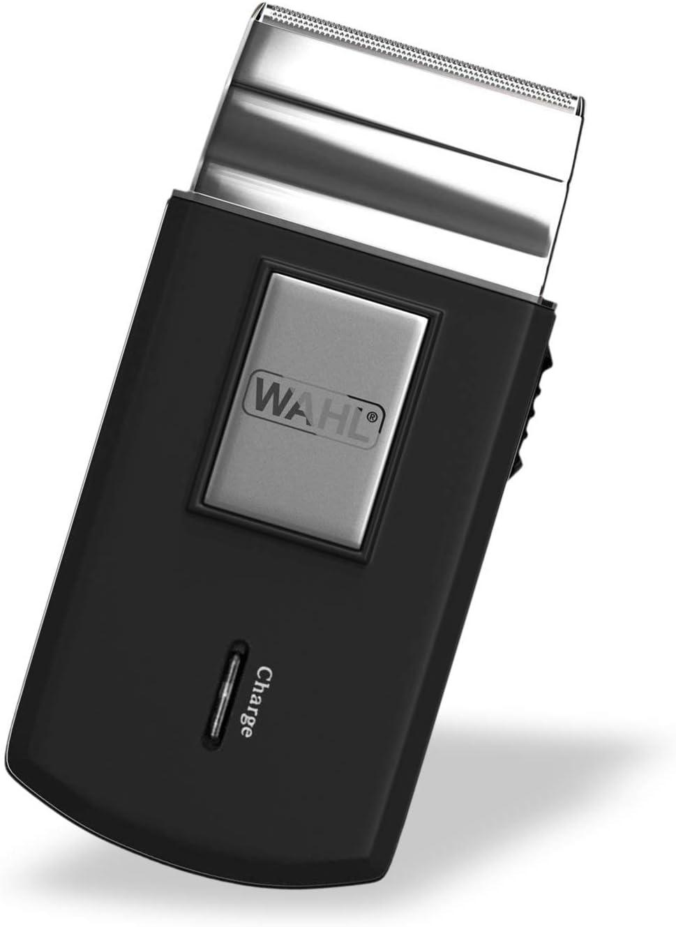 Wahl 3615-0471-Mobile Shaver, Kit para el corte de pelo - 1 unidad, batería, a red;indicadores led;pantalla lcd multifuncional;tapa protectora;recargable