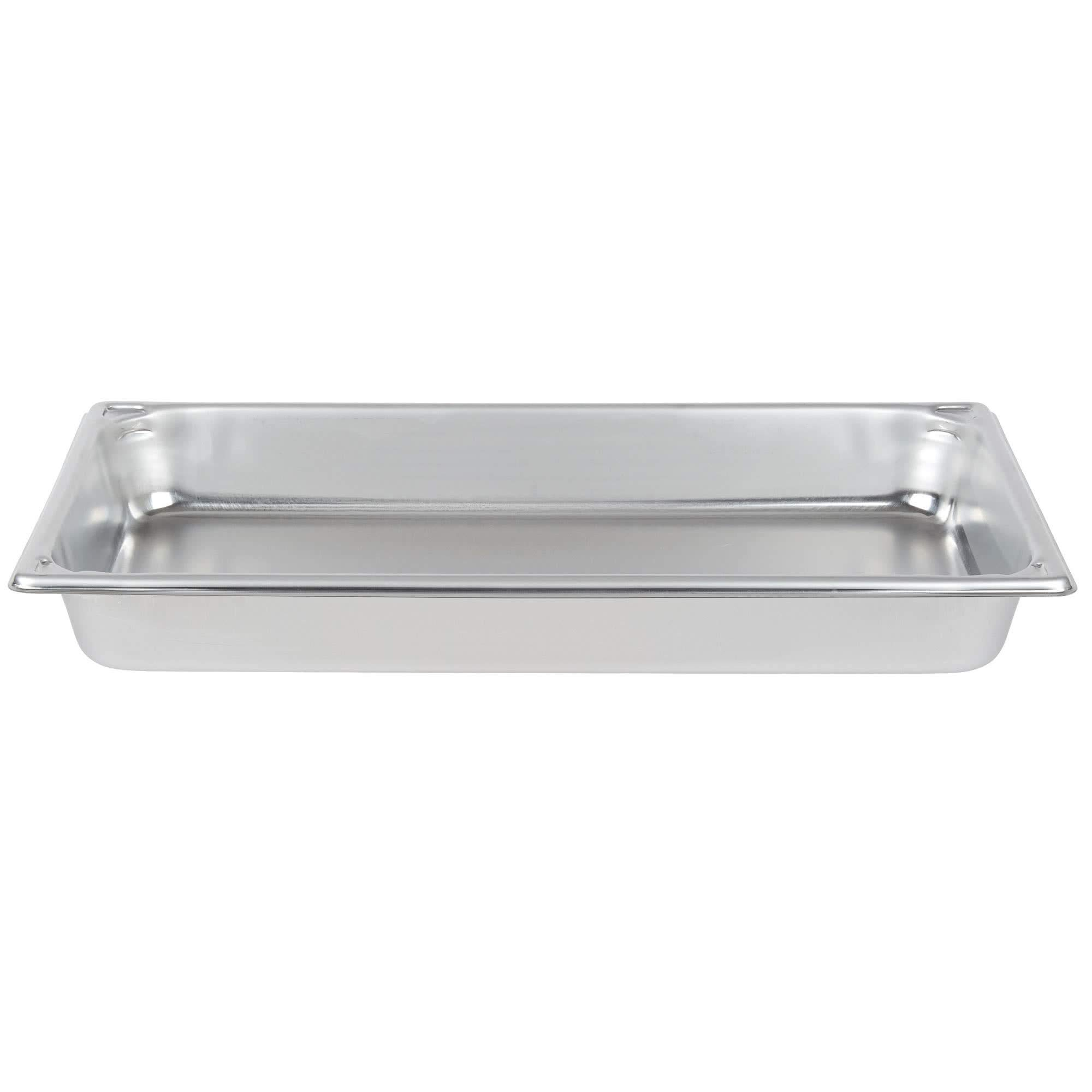 TableTop King 30020 Super Pan Heavy-Duty Full Size Anti-Jam Stainless Steel Steam Table/Hotel Pan - 2 1/2'' Deep by TableTop King
