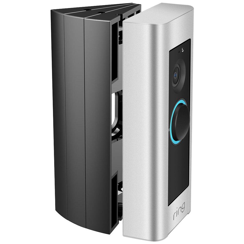 Ring Video Doorbell Pro Angle Mount Corner Wedge Kit Adjustable 3Pc White Best