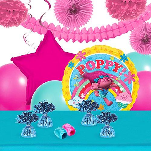 BirthdayExpress Trolls Party Supplies Balloon Table Decor Kit -