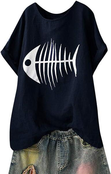 Qingsiy Camisas Mujer Blusa Suelta De Mujer Manga Larga Camiseta Color Sólido De Tops Casuales Camisa del V-Cuello Top De La Moda Mujer De Camiseta Tops Mujer Verano: Amazon.es: Ropa y accesorios