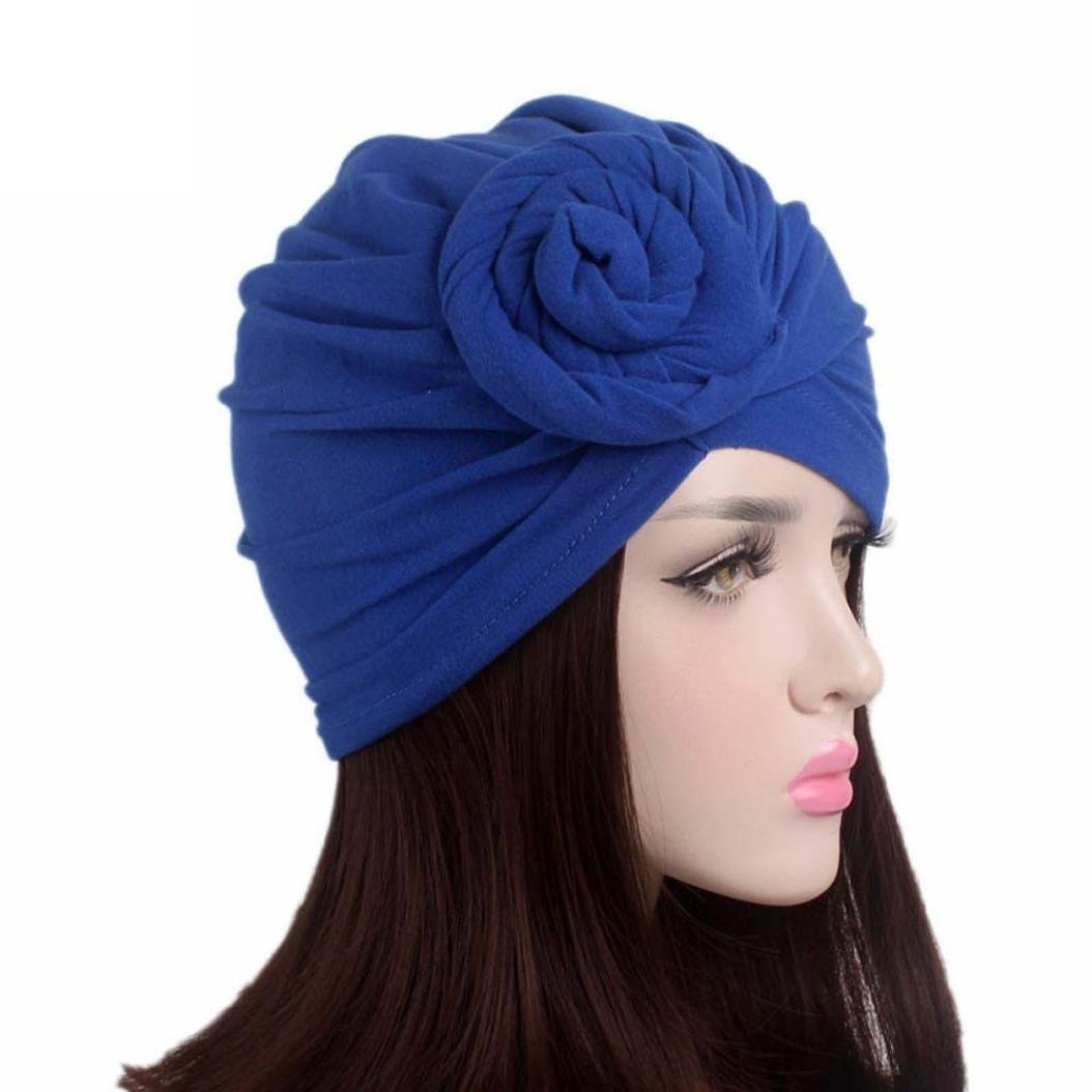Compia Women Ladies Twist Tie Boho Cancer Hat Beanie Scarf Turban Head Wrap Cap