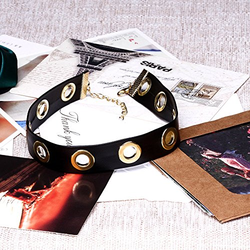 Jewelry Necklace Girl Chocker Women Leather For Gift Missrui Punk Hop Lolita Hip Adjustable qT8nEWZa
