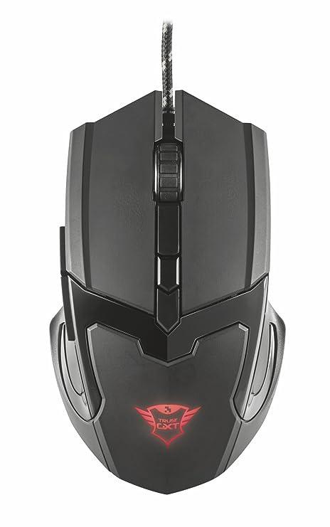 4d9803fd1cf Trust Gaming GXT 101 Mouse da Gioco, Illuminato a 4800 DPI, Dotato di 6