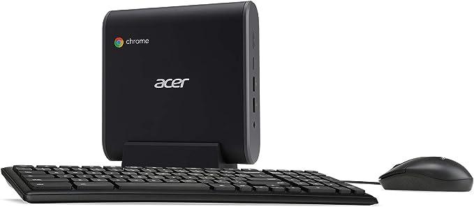 Amazon.com: Acer Chromebox CXI3-UA91 Mini PC, Intel Celeron 3867U Processor 1.8GHz, 4GB DDR4 -Memory, 128GB M.2 SSD, 802.11ac Wi-Fi 5, USB Type-C, Chrome OS, Keyboard and -Mouse Included: Computers & Accessories