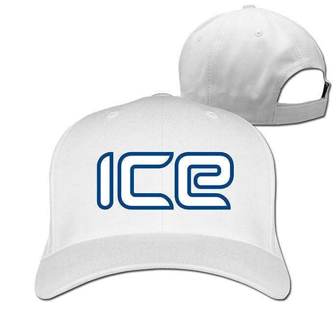 Baseball Hats Unisex Hielo símbolo Gorras de béisbol Negro ...