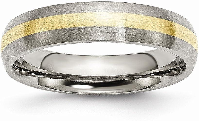 Titanium 11 Jay Seiler Titanium 8mm Polished Band Size
