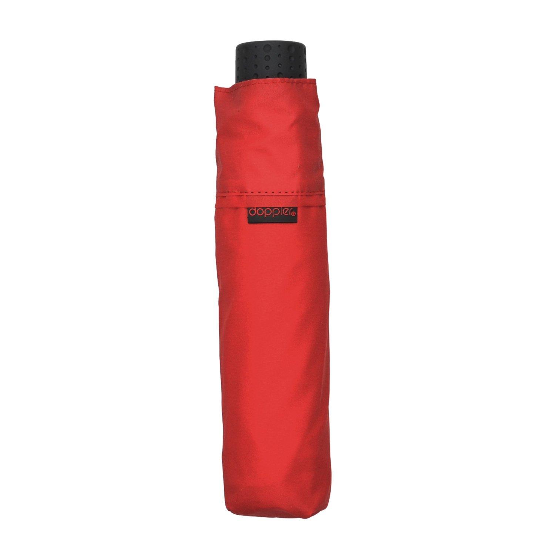 Doppler bolsillo paraguas paraguas en muy ligero y Super Slim Nur 140 g), color rojo: Amazon.es: Equipaje