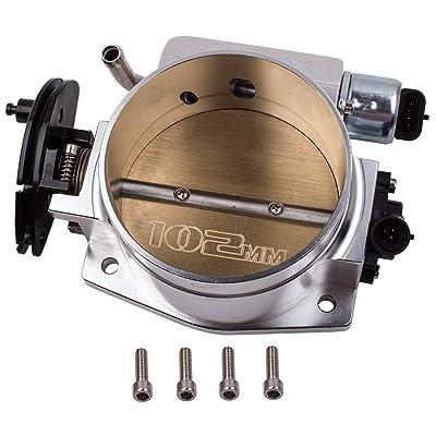 102MM Throttle body &TPS IAC Throttle Position for Sensor for GM III LS1 LS2 LS3 LS7: Automotive