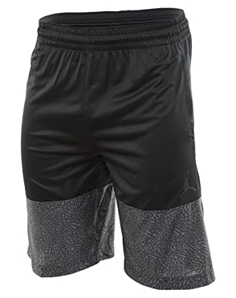 a6dd66aeb8d8 ... Nike Mens Jordan Wings Blockout Basketball Shorts Black Black  831336-010 Size Small ...