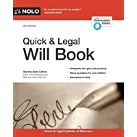 Image for Quick & Legal Will Book