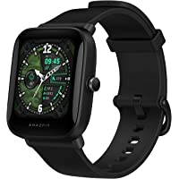 "Amazfit Bip U Smartwatch Fitness Reloj Inteligente 60+ Modos Deportivos 1.43"" Pantalla táctil a Color Grande 5 ATM GPS…"