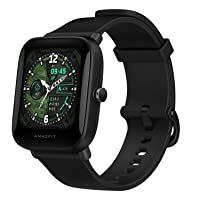 Amazfit Bip U Pro Smart Watch with Built-in GPS, 9-Day Battery Life, Fitness Tracker, Blood Oxygen, Heart Rate, Sleep, Stress Monitor, 60+ Sports Modes, 1.43