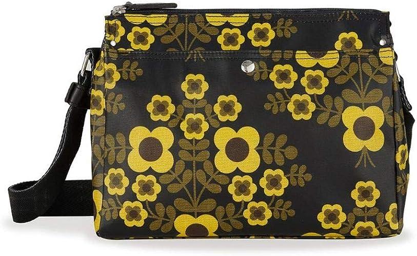 Orla Kiely Womens Mono Fielder Shoulder Crossbody Bag