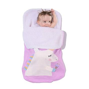 Leyeet bebé recién Nacido Saco de Dormir del bebé Manta Caliente ...