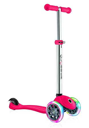 Globber niños del Primo Light Up Ruedas Scooter