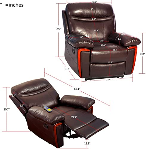 Romatpretty Massage Recliner ,Power Chair Recliner
