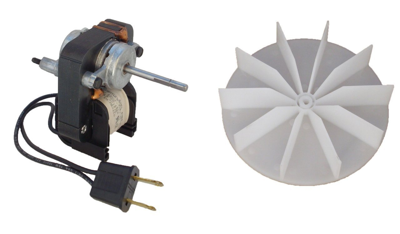 Century Electric Motors C01575 Universal Bathroom Fan Replacement Electric  Motor Kit with Fan, 120 volts: Amazon.com: Industrial & Scientific