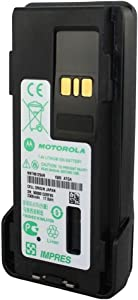 NNTN8129AR Motorola Original OEM IMPRES 2300mAh Submersible (IP67) Battery ‐ Intrinsically Safe (FM) Lithium Ion Li-Ion 1500 Milliamps 7.2 Volts MOTOTRBO for XPR7350 XPR7550 XPR7380 XPR7580 APX4000 APX3000