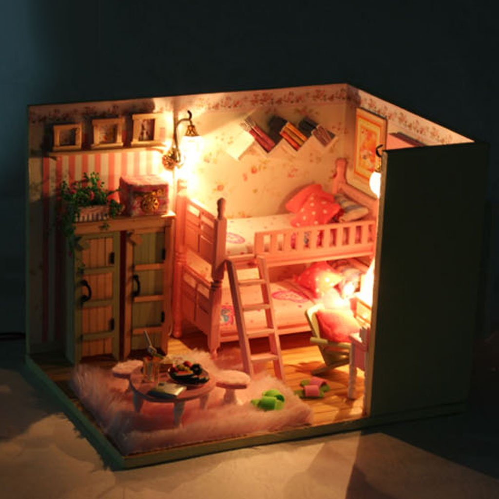 Buy Generic DIY Dollhouse Miniature Kids Room Kit With Light Online at Low Prices in India - Amazon.in  sc 1 st  Amazon India & Buy Generic DIY Dollhouse Miniature Kids Room Kit With Light ... azcodes.com