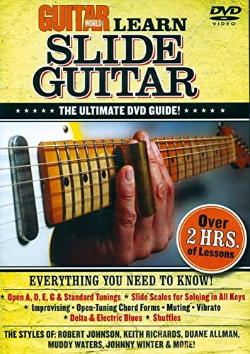 Guitar World: Learn Slide Guitar: The Ultimate DVD Guide!