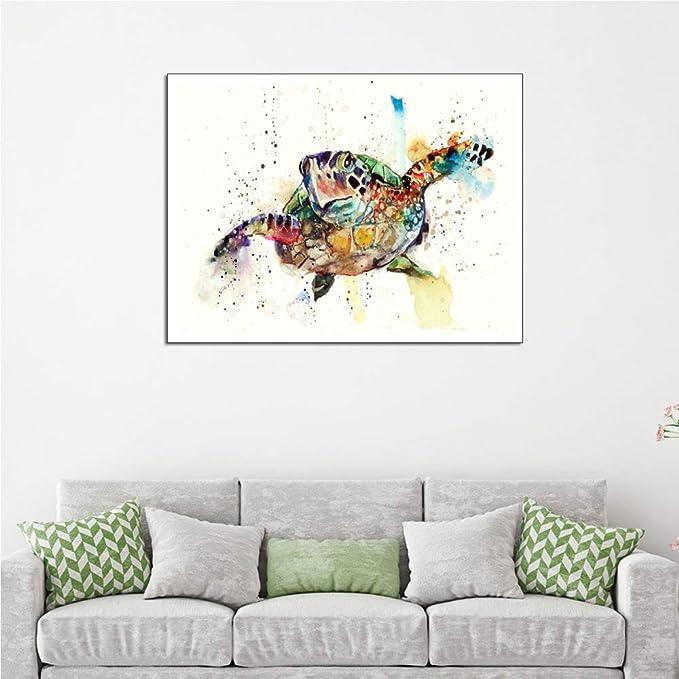 WSNDGWS Decoración del hogar Pintura Serie Animal Decoración ...