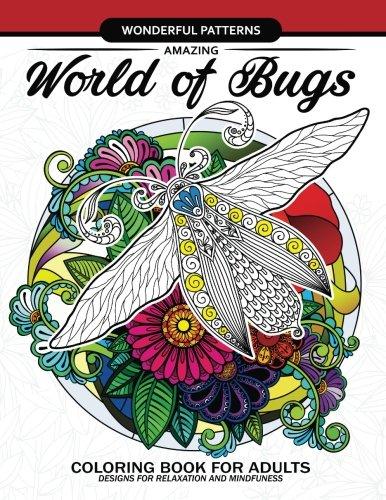 Amazing World Bugs coloring adults
