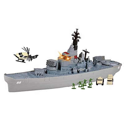 Motormax Electronic Giant 26 inch Battleship Light and Sound: Toys & Games