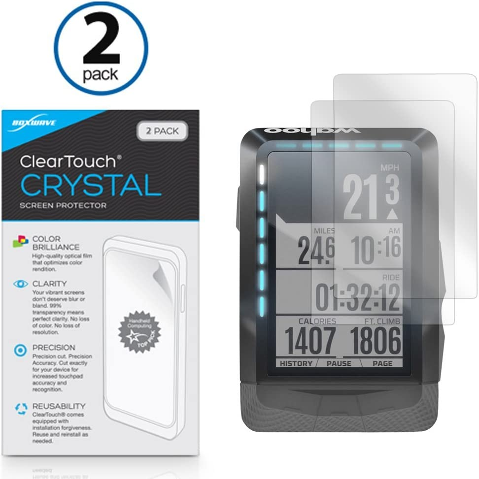 BROTECT AirGlass Glass Screen Protector for Wahoo Elemnt GPS Ultra-Light Extra-Hard Screen Guard