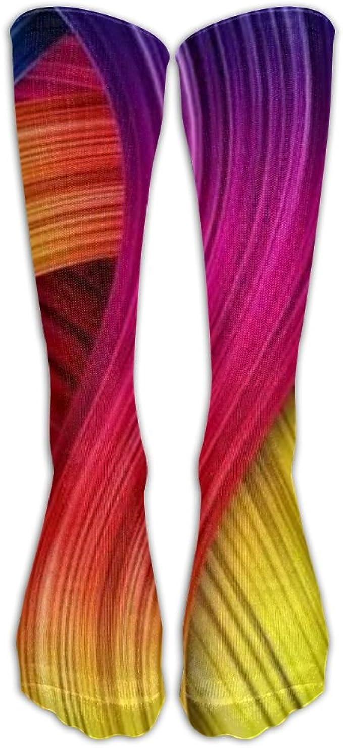 Xngtax Thigh High Socks Rose Skull Womans Mens Funny Champion Athletic Leggings Knee High Stockings For Dress Sport