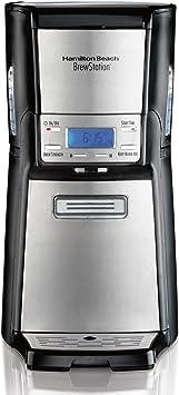 Hamilton Beach (48465) Coffee Maker with 12 Cup Capacity & Internal Storage Coffee Pot, Brewstation