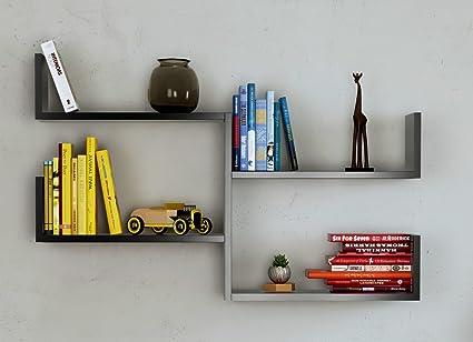 FRESH Mensola da muro - Mensola Parete - Mensola Libreria - Scaffale ...